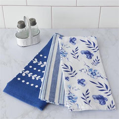 treasuredcountry gifts out of the blue dishtowels set of 3