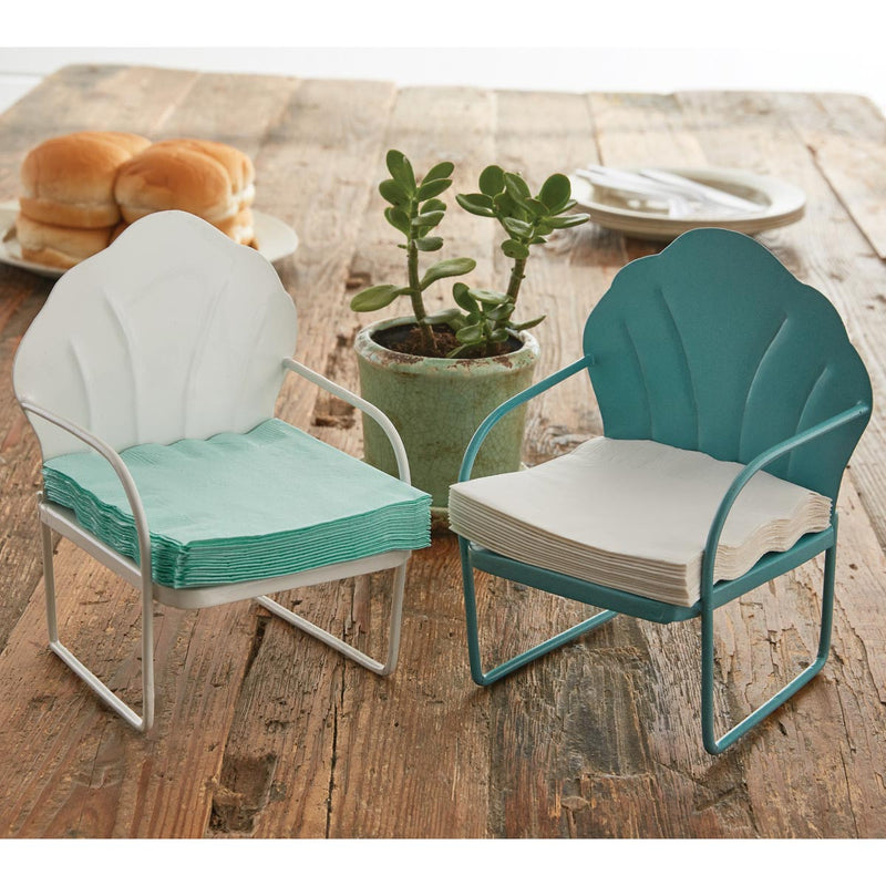 Napkin Holder Beverage Lawn Chair Set of 2