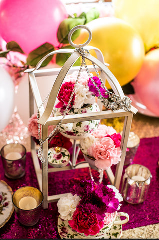 Vintage Tea Party Centerpiece