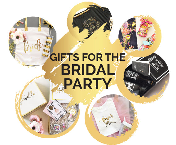 Gift Guide for the Bridal Party