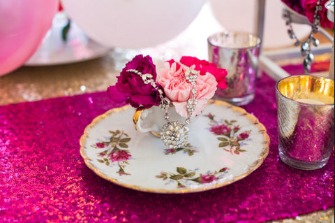 Vintage Tea Party Cookies & Tea Cups - Celebrate Chaos