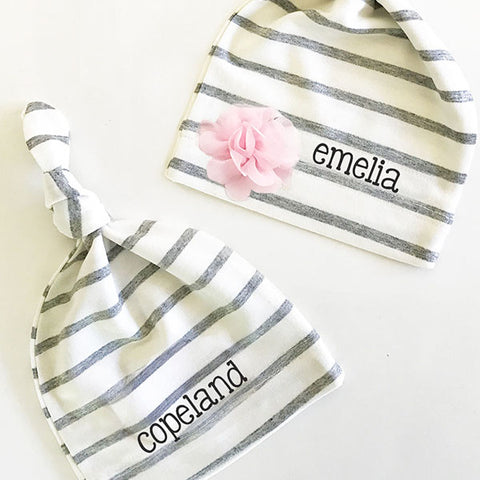Personalized Baby Stocking Hat