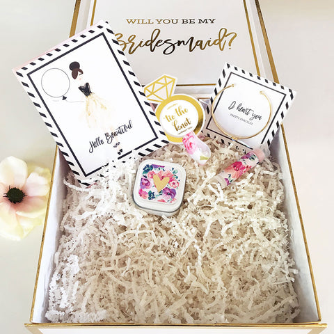 Will You Be My...Bridal Party Gift Set Package