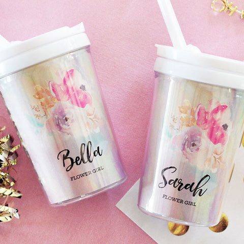 Flower Girl Sippy Cup