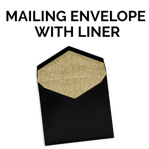 Mailing Envelope with Liner