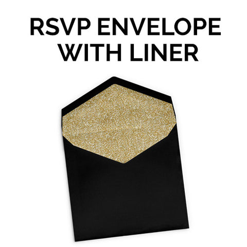 RSVP Envelope with Liner