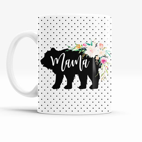 Rustic Mama Bear Coffee Mug