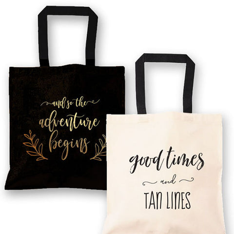 Themed Canvas Tote