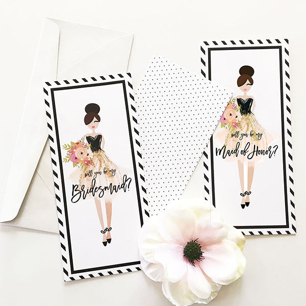 Will You Be My...Bridesmaid or Maid of Honor Card