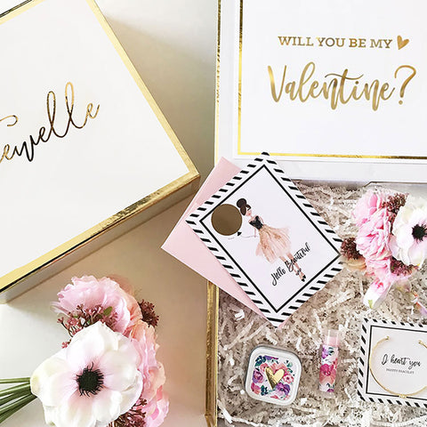 Will You Be My...Valentine Gift Set Package