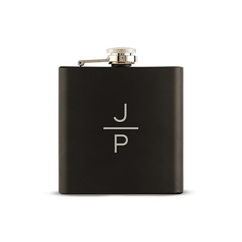 Flask Personalized Monogram