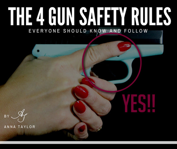 The 4 Gun Safety Rules Everyone Should Know and Follow