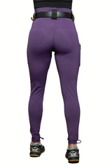 PHANTOM 2 PLUM CONCEALED CARRY LEGGINGS