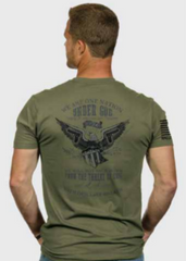 """The Patriot"" Men's OD Green T-Shirt"