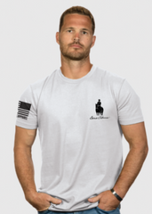 """God & Country"" Men's T-Shirt- White"