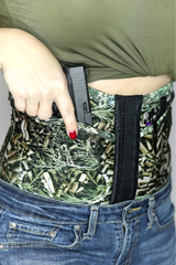 C-Ammo print concealed carry corset holster from Dene Adams