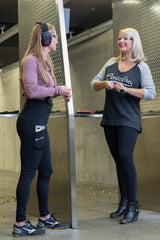 PHANTOM 2 BLACK CONCEALED CARRY LEGGINGS