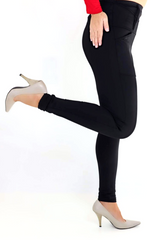 Black Concealed Carry Leggings from Dene Adams