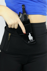 Womens Concealed Carry Leggings with Gun Holster