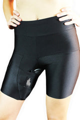 Black Body Shaping Thigh Holster Shorts