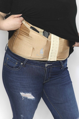 Natural Concealed Carry Corset Holster