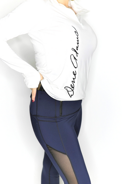 Navy Classic Concealed Carry Tactical Leggings