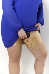 Nude Body Shaping Thigh Holster Shorts