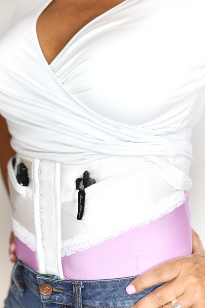 Limited Edition Orchid Concealed Carry Corset Holster
