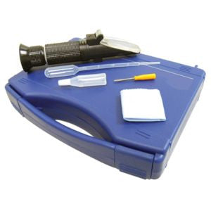 Certified Salt Refractometer 0-100 PPT w/ATC 300011C - RWC Testing & Lab Supplies