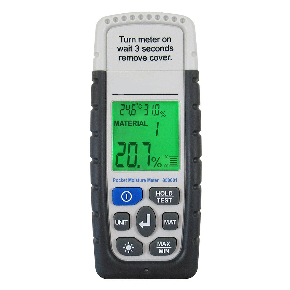 Pocket Moisture Meter 850001 - RWC Testing & Lab Supplies
