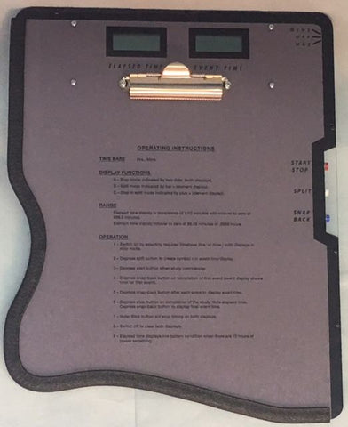Time Study Board Right Handed 001-R - RWC Testing & Lab Supplies