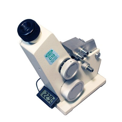Abbe Refractive Index Refractometer C10 - RWC Testing & Lab Supplies