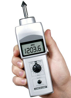 DT-107A Hand-Held Contact Tachometer (LED) - RWC Testing & Lab Supplies