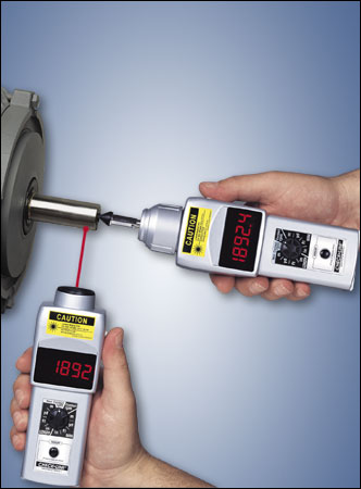 DT-207LR Combination Contact & Non-Contact Tachometer - RWC Testing & Lab Supplies