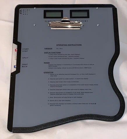 Time Study Board Left Handed 001-L - RWC Testing & Lab Supplies