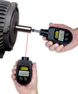 PLT-5000 Combination Contact and Non-Contact Laser Tachometer - RWC Testing & Lab Supplies