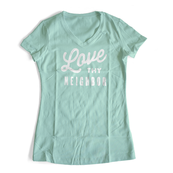 Love thy Neighbor Premium Women's T-shirt
