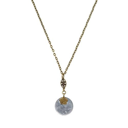 Italian 50 Lire Coin Necklace