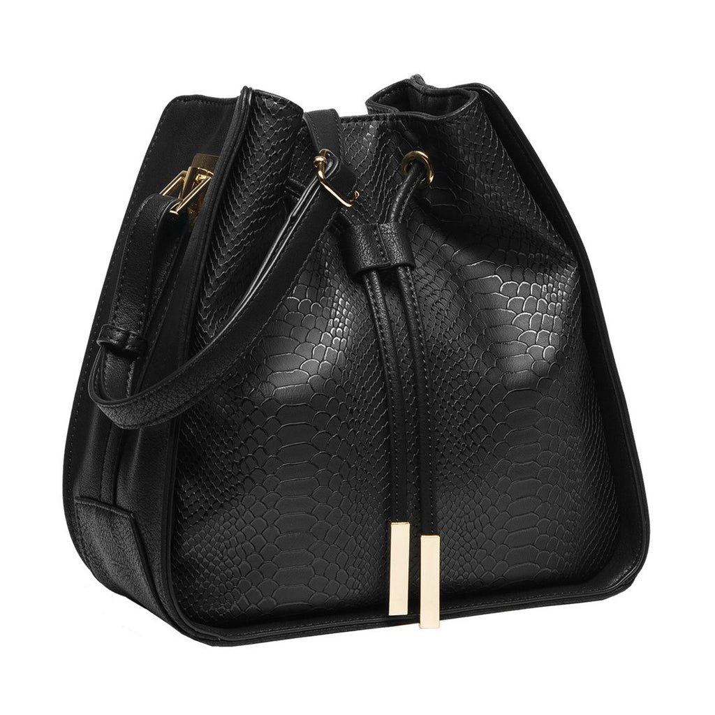 Olivia Bucket Bag - Black