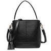 Mia Bucket Bag - Black