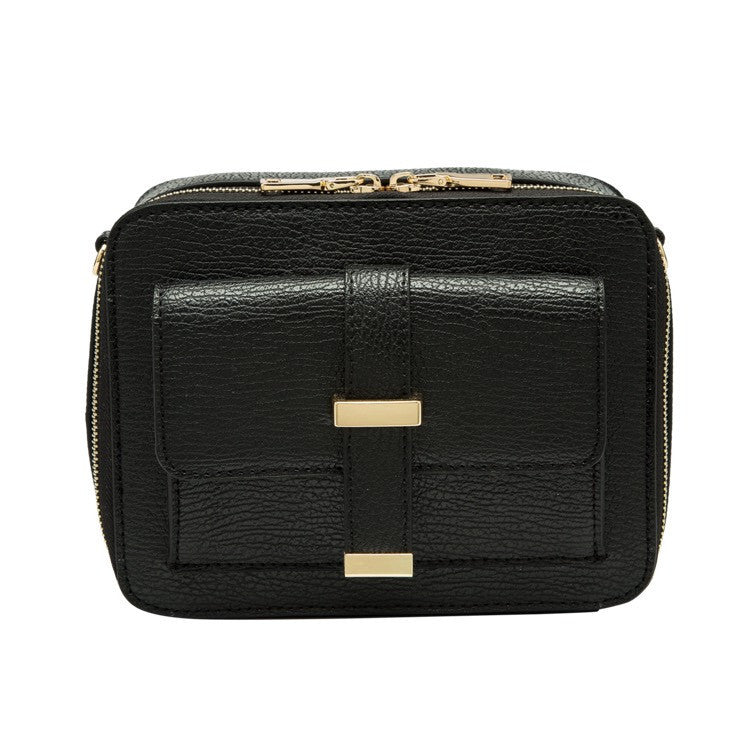 Lela Boxy Bag (Black)