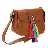 Rosie Crossbody - Saddle
