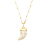 Horn Necklace (Gold)
