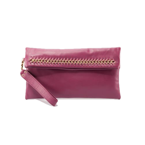 Allegra Clutch - Berry