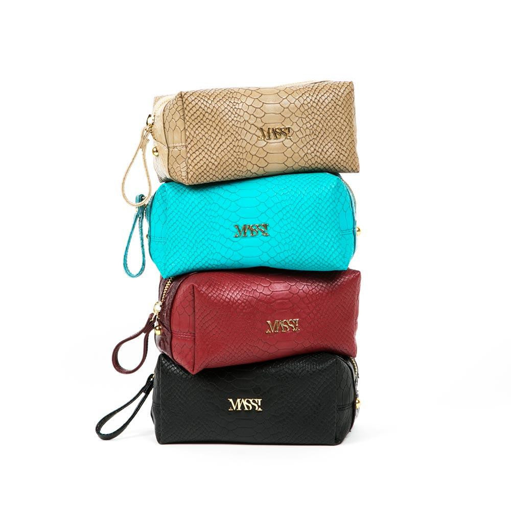Luxury Makeup Bag (Assorted Colors)