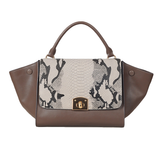 Caterina Purse - Gray Snake