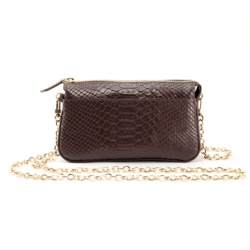 Elena Crossbody - Brown