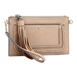 Sawyer Braided Bag (Nude)