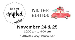 Let's Get Crafted Winter Edition 2018
