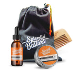 Set: Beard Care Duo (with Comb & Bag)